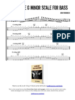 Two Octave Minor Scale for Bass