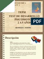 TEPSI presentación