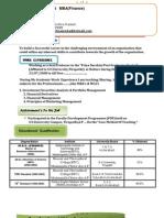 NagendraPrasad Resume 2010 Finanl2003 PDF