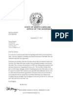 Governor Letter 1