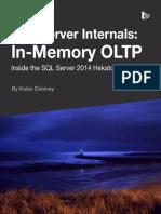 SQL Server in-Memory OLTP