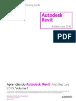 Learning Autodesk Revit Architecture 2010-LAS-ToC