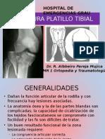 Fracturas Platillo Tibial