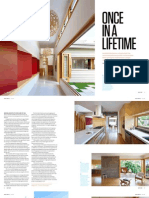 Sanctuary magazine issue 11 - Once in a Lifetime - Hill End, Brisbane green home profile