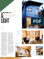 Sanctuary magazine issue 11 - Height & Light - Kensington, Melbourne green home profile