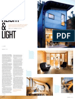 Sanctuary magazine issue 11 - Height & Light - Kensington, Melbourne green home profile