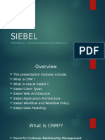 Siebel fundamental