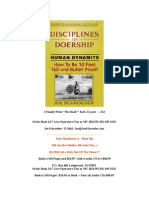 Disciplines of Doership ~ Joe Schroeder ~