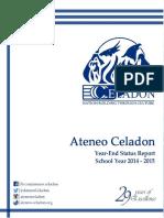 Ateneo Celadon YES Report 2014-2015