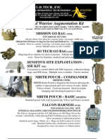 SO Tech Ground Warrior Augmentation Kit