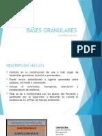 Bases Granulares