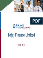 Bajaj Corporate Presentation 2010 11