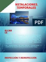 INSTALACIONES  TEMPORALES