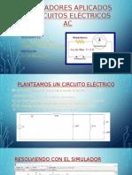 Simuladores Aplicados a Circuitos Eléctricos Ac