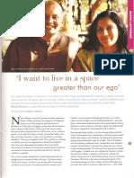Pink Connexion Article on Nipun Mehta