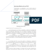 Estructura Básica de Un PLC