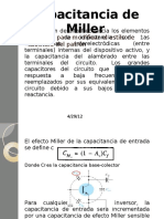 Capacitancia de Miller