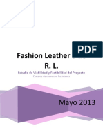 proyecto informe Fashion Leather