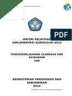 Materi Pelatihan Pjok Smp