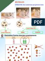 Disoluciones Reales Electrolitos Parte I