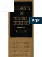 Acoustical Engineering de Harry Olson