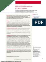 SEPSIS, 3ra Definición de Consenso, JAMA Feb 2016