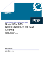 GSM BTS S2000H_S2000L_e-Cell Fault Clearing (411-9001-104_18.05)