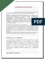 Roles Del Quimico Farmaceutico en El Area de Investigacion