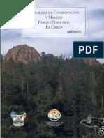 Libro El Parque Mineral del Chico, Hidalgo