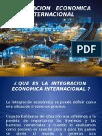 Integracion Economica Internacional