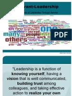 Leadership, Servant Leadership and St. Vincent de Paul
