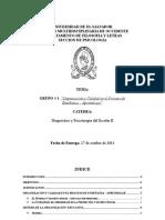 """Organización y Calidad en el Proceso de Enseñanza -  Aprendizaje"""""""