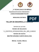 1.2 Centros Integradores Del Ser Humano Cuesta Beatriz