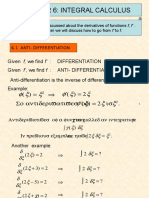 Diploma for Maths - Chapter 6- Integral Calculus - 6.1 & 6.3