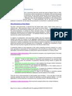 Micro & Macro Economics UTU Notes