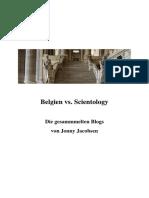 Prozess gegen Scientology in Belgien - Artikel 1 bis 35 von Jonny Jacobsen
