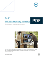Dell Precision Workstation Reliable Memory Technology Whitepaper