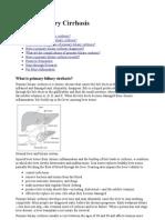 Primary Billiary Cirrhosis