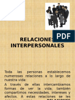 Relaciones Interpersonales- Expo