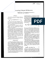 Forecasting Ultimate Oil Recovery