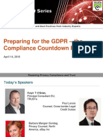 Preparing for the New EU GDPR Compliance | Webinar from TRUSTe