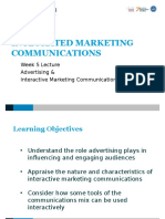 L 5 - Advertising and Interactive Marketing Communications STUDENT