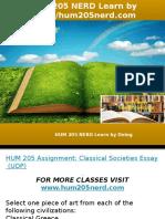 HUM 205 NERD Learn by Doing-hum205nerd.com