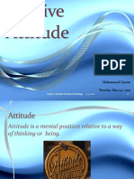 Positive Attitude PPT