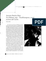 Antonio Benítez Rojo (La Habana, 1931 - Northhampton, 2005) Escritor Del Caribe. Página 12 - 15