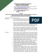 Draft Sk Standar Kompetensi Jabatan