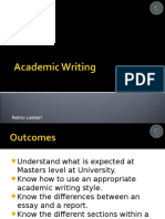 Academic Writing 1