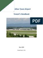 Tenant Handbook Revised Aug 2012