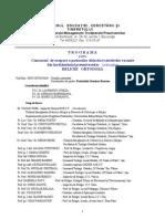 Programa Titularizare Religie Ortodoxa