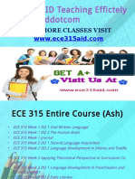 ECE 315 AID Teaching Effectively ece315aiddotcom